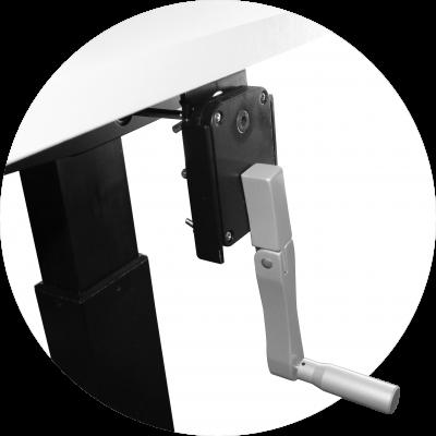 Manual Adjustable Height Desks