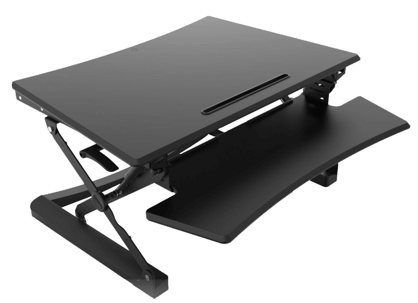 The Plus Desktop Sit Stand Station Rocky Mountain