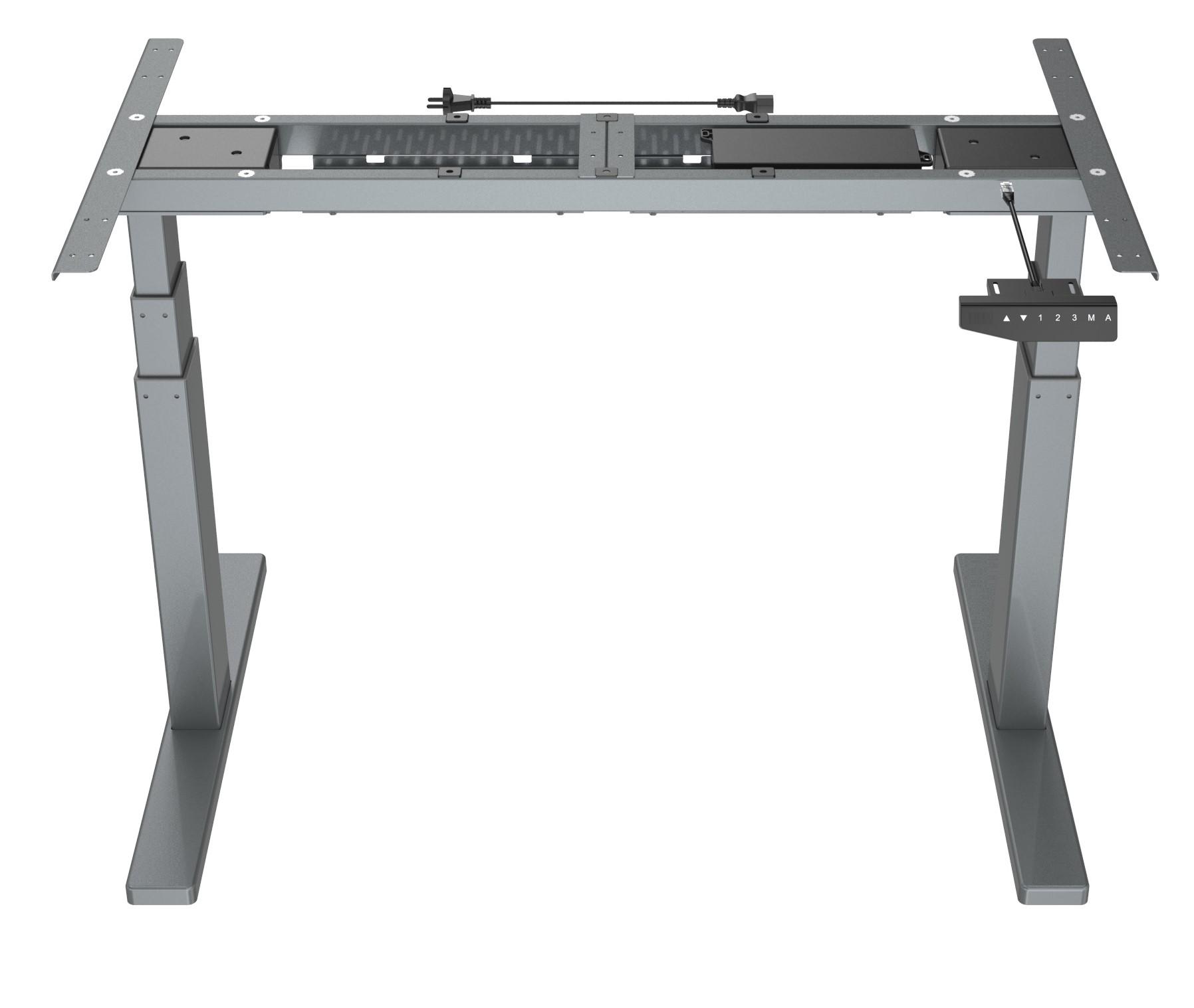 Vantage - Grey - Stand Desk