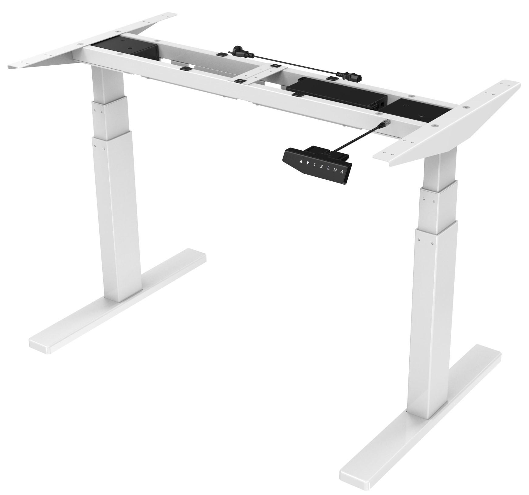Vantage White - Stand Desk