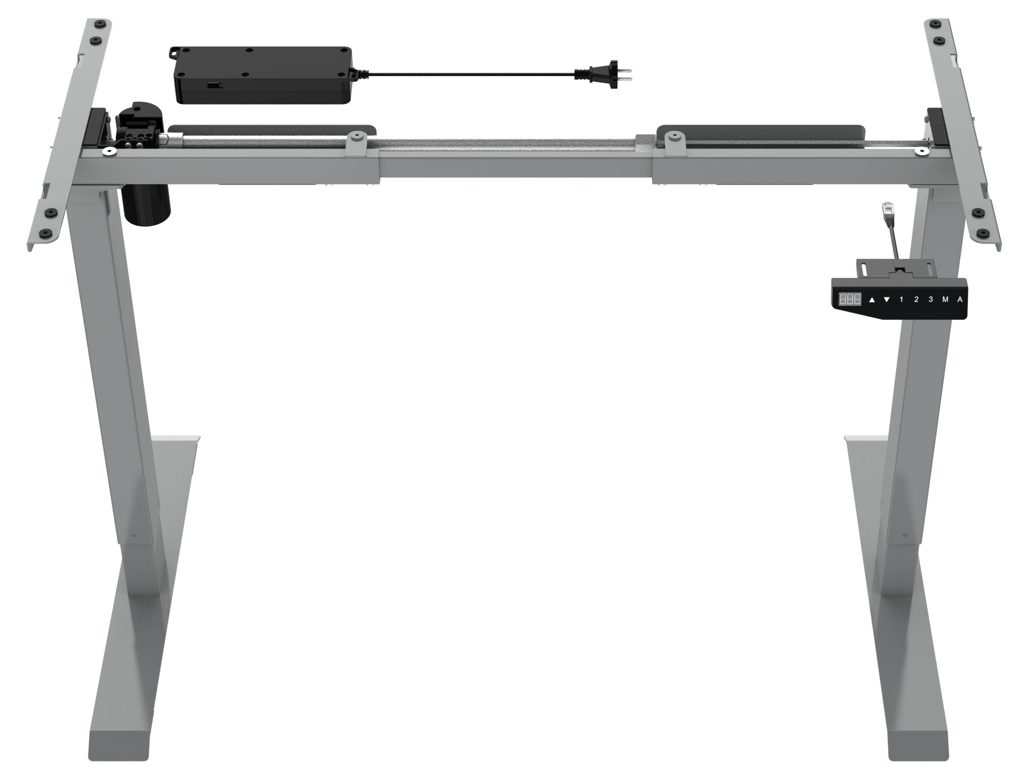 ELEMENT Stand Desk GREY (2)