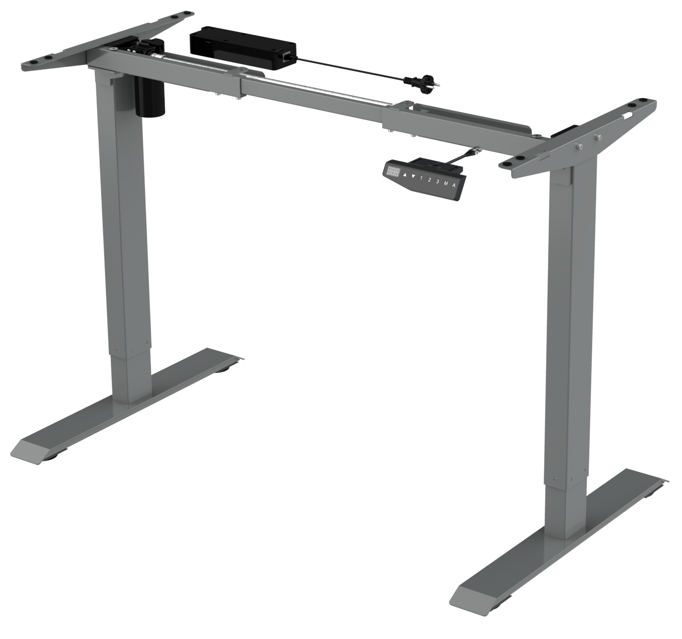 ELEMENT Stand Desk GREY (3)