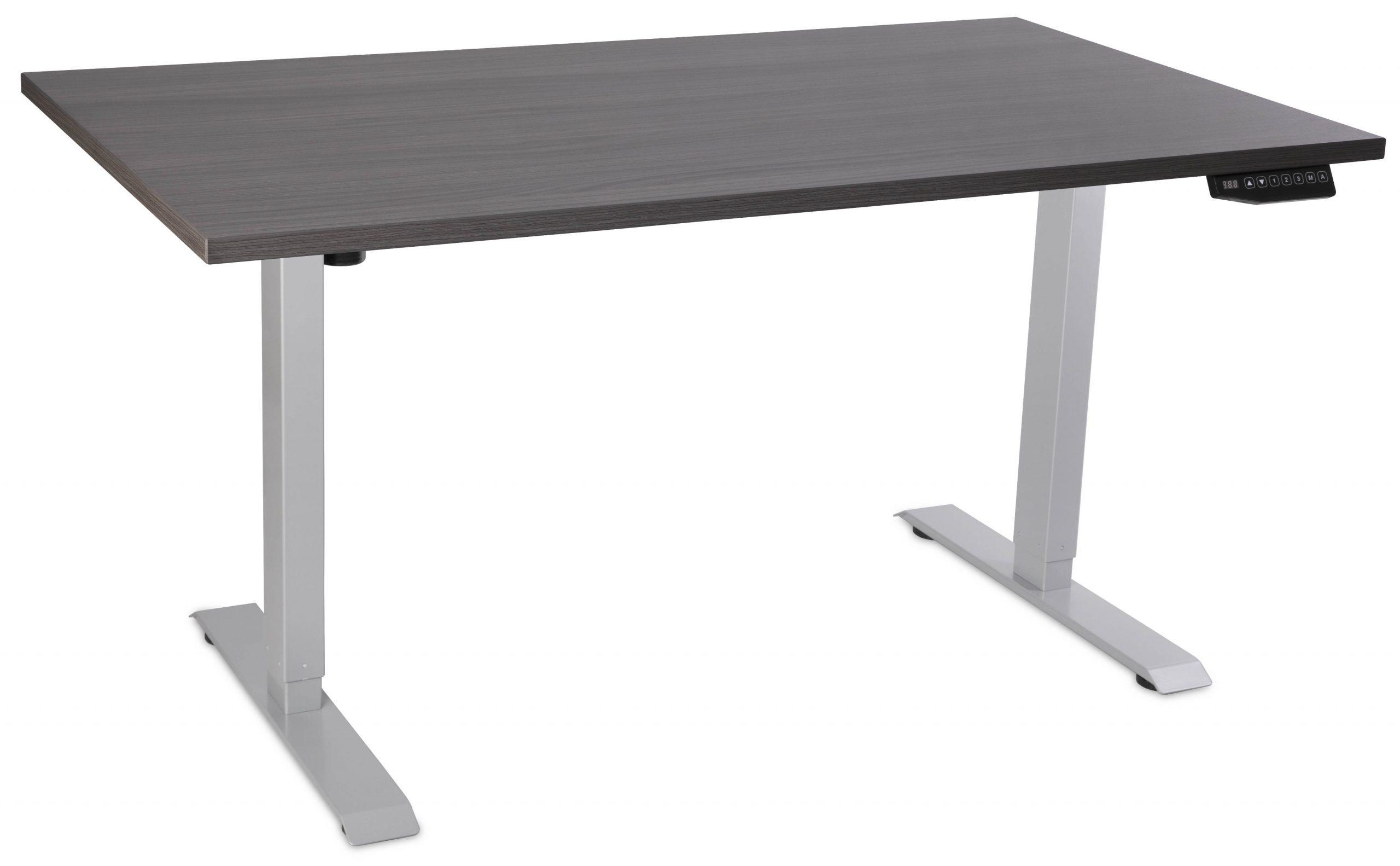 Element Standing Desk Grey with Grey Top